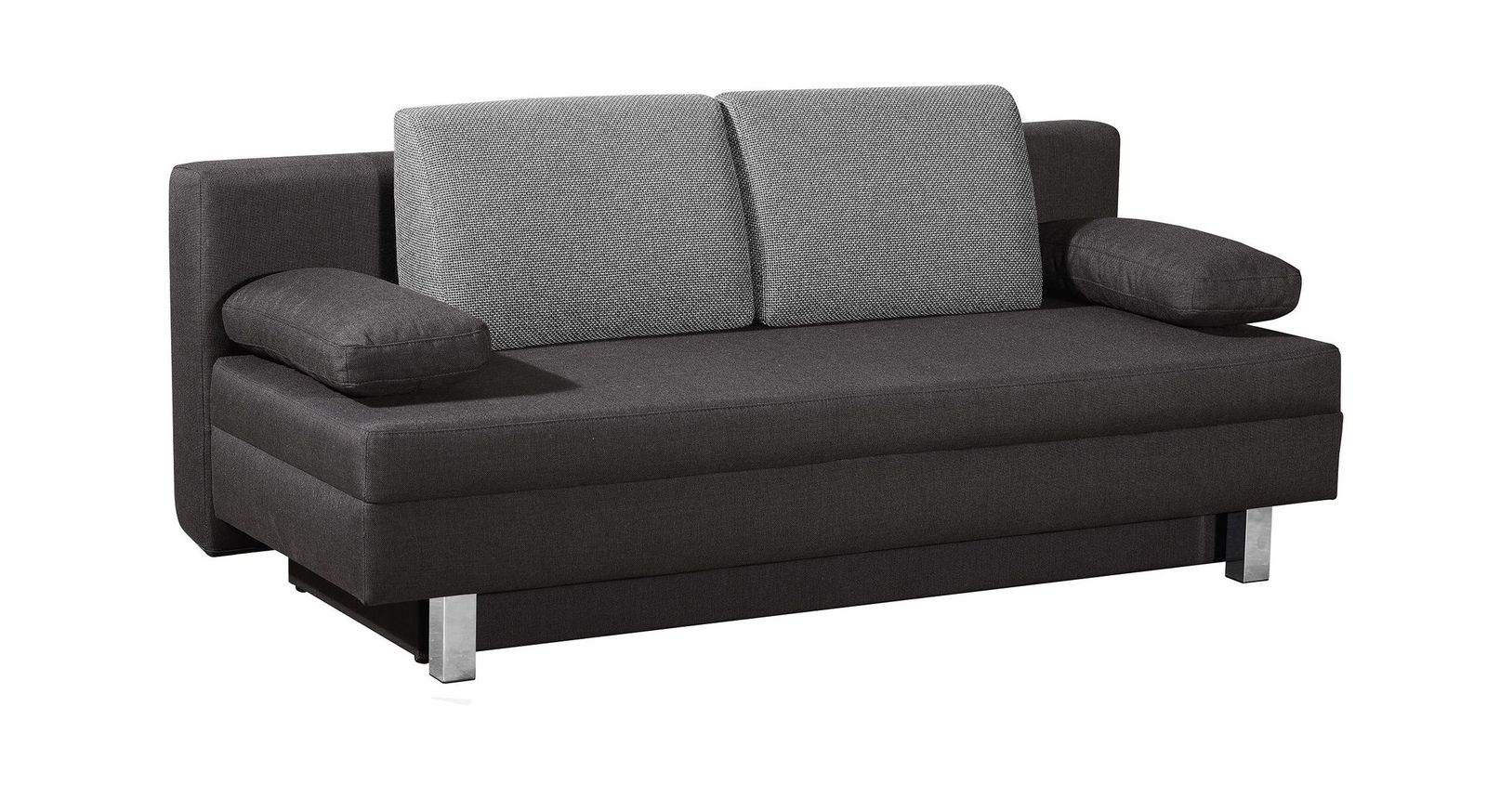 schlafsofa in 150x200 cm mit bettkasten und hubmatik hill brook. Black Bedroom Furniture Sets. Home Design Ideas