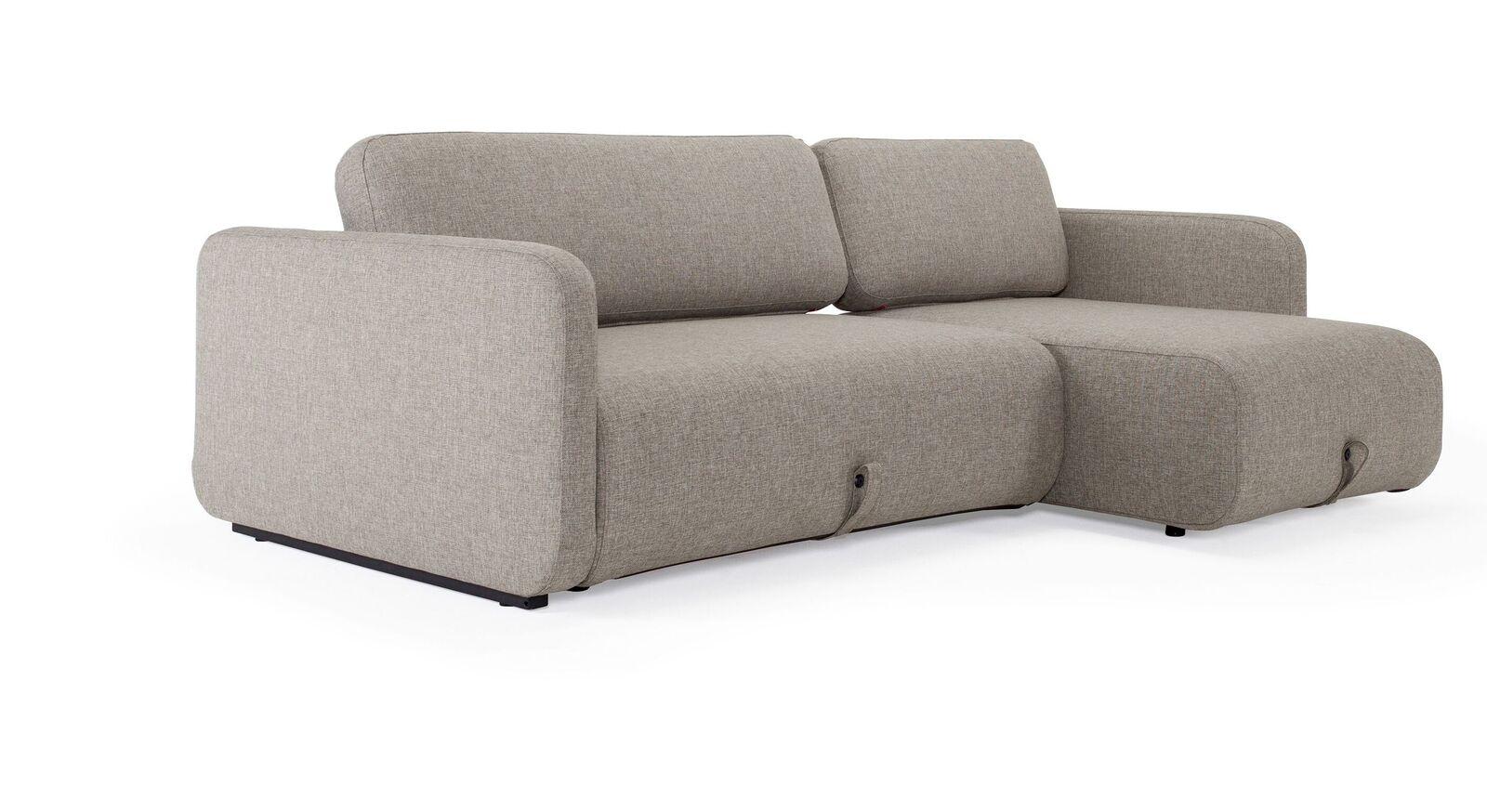 Schlafsofa Mikan mit beweglichen Sitzpolstern