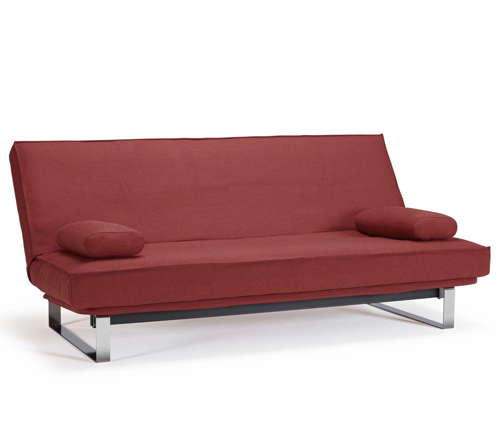 Schlafsofa dunkelgrün  Moderne Couch mit Dauerschlaffunktion inkl. Sofakissen - Perano