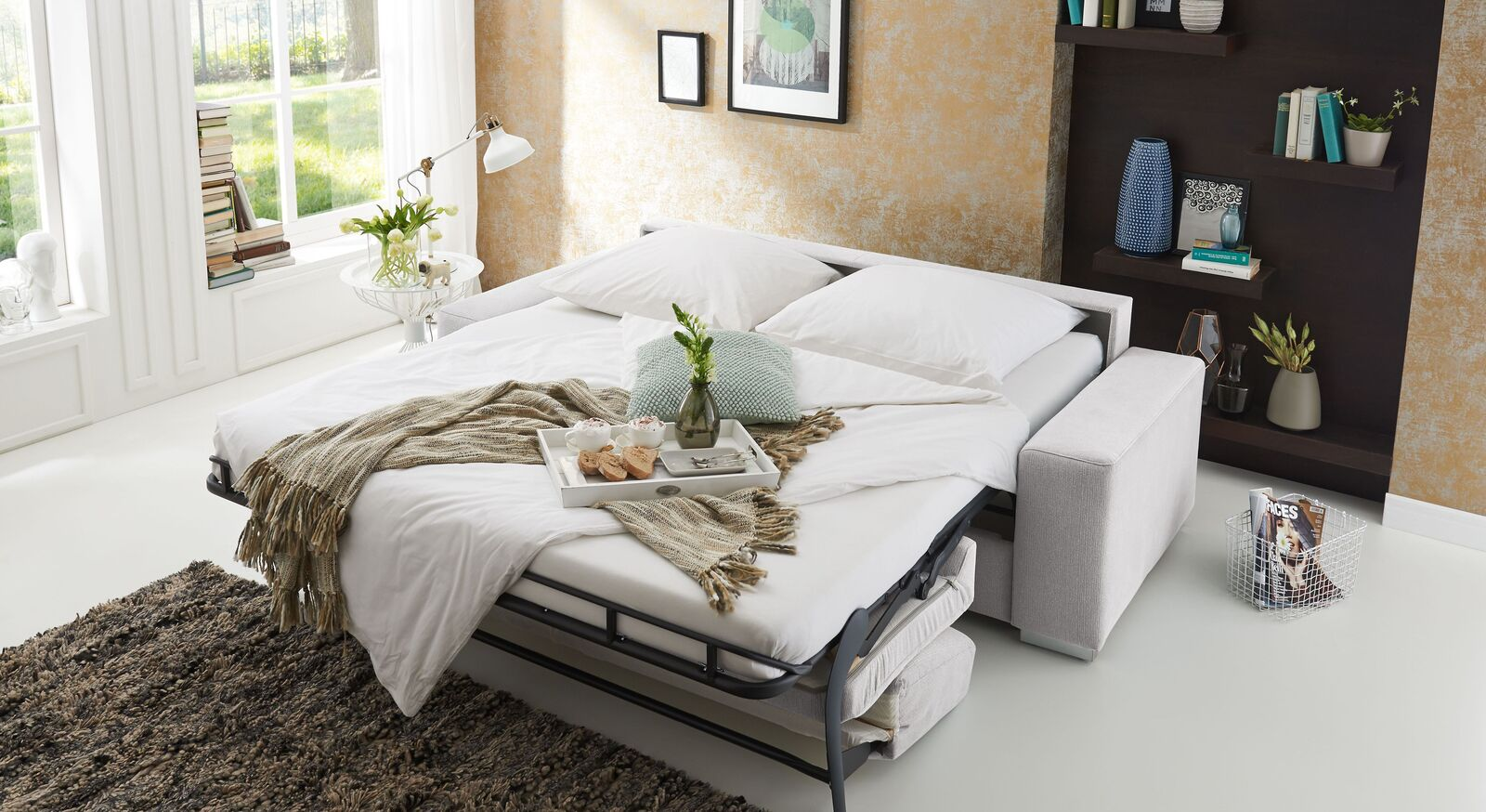 Schlafsofa Telmo mit großzügiger Liegefläche