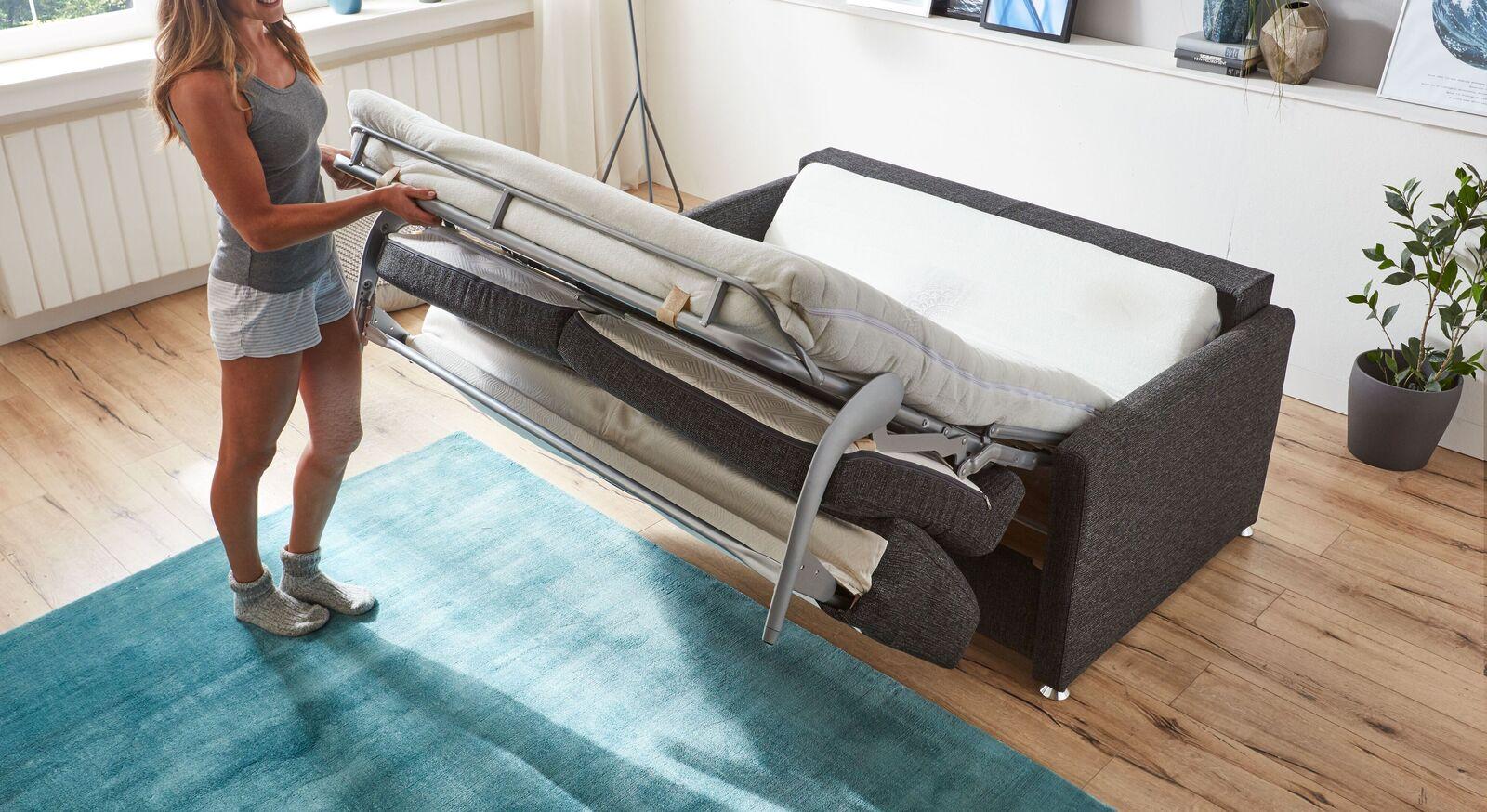 Modernes Schlafsofa Tullia mit bequemer Matratze