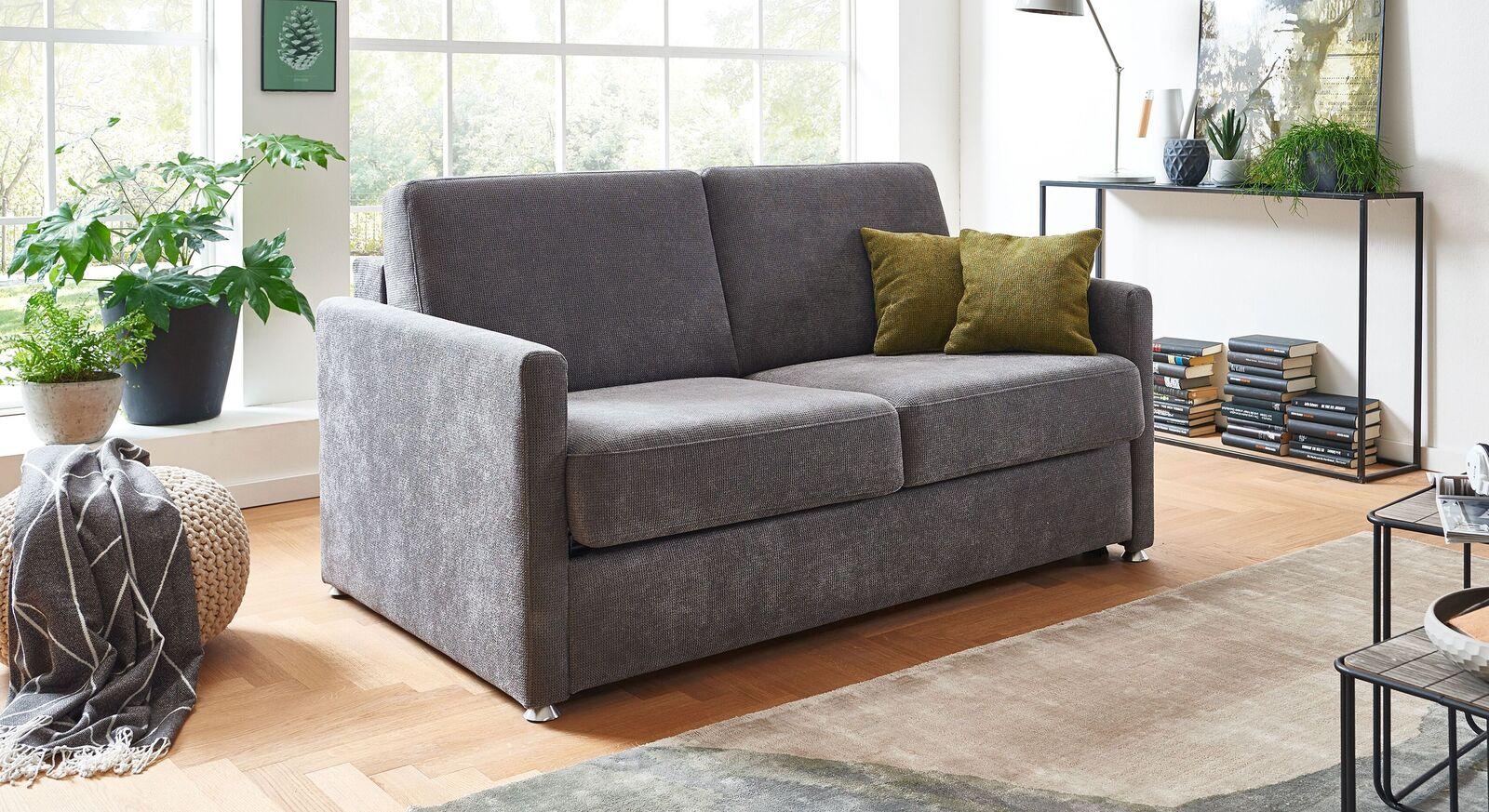 Schlafsofa Tullia mit gepolsterter Sitzfläche