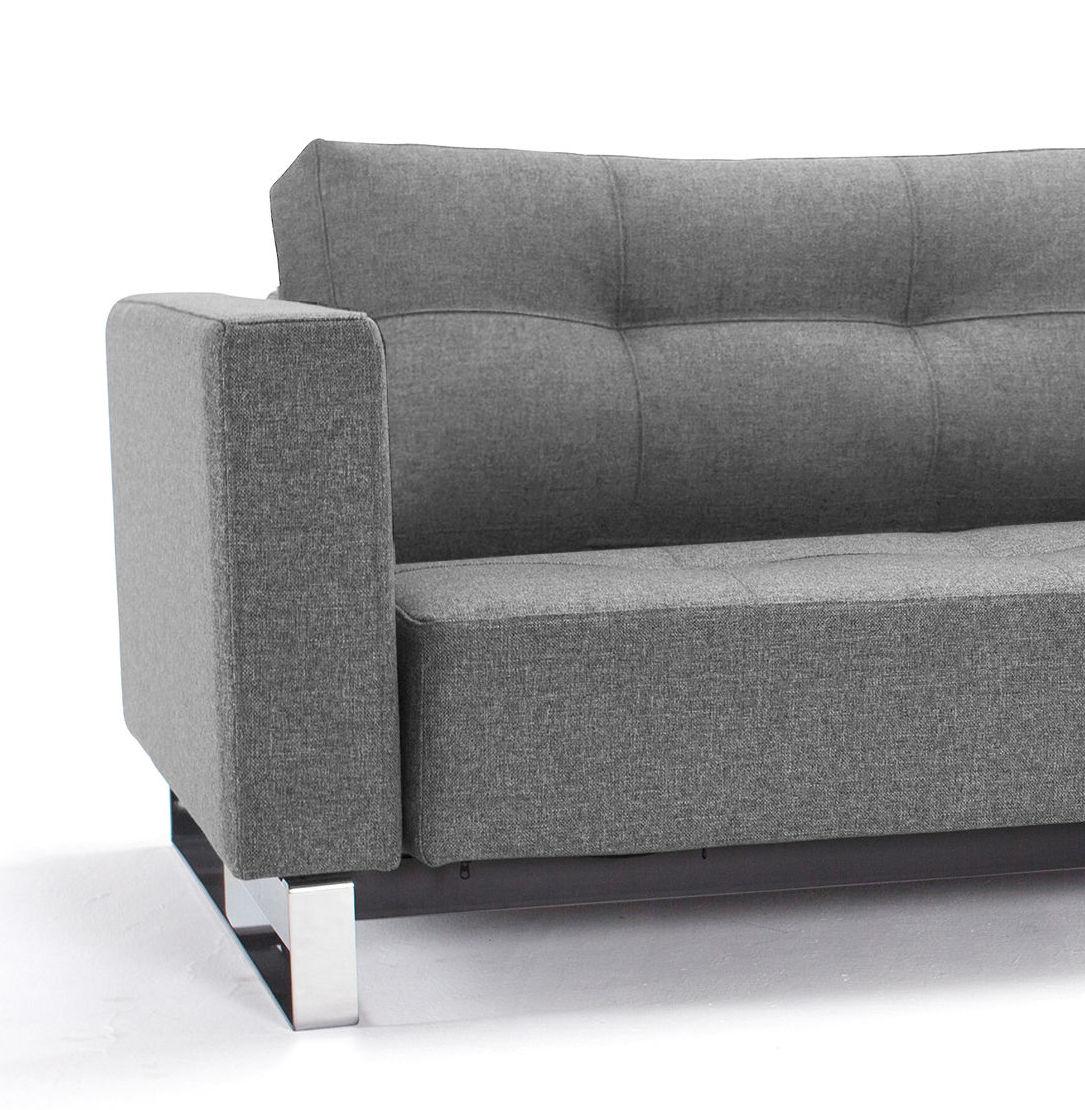schlafsofa grau. Black Bedroom Furniture Sets. Home Design Ideas