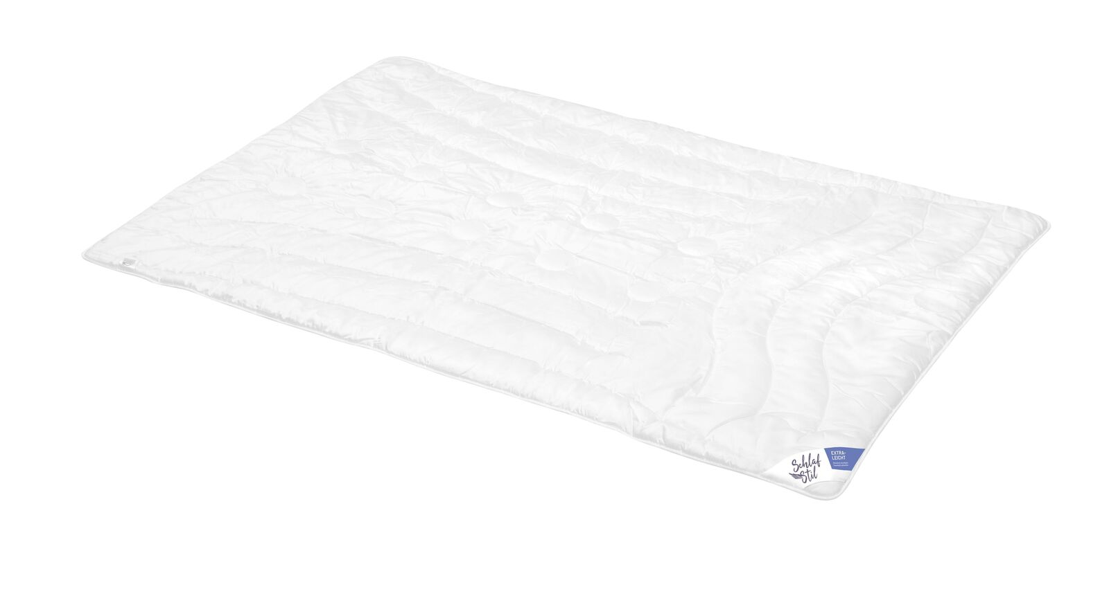 SCHLAFSTIL Cashmere-Flaum-Bettdecke N700 extra leicht für geringen Wärmebedarf