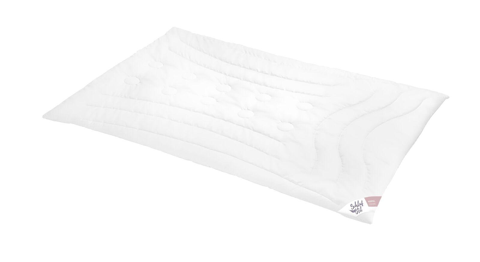 SCHLAFSTIL Cashmere-Flaum-Bettdecke N700 für normalen Wärmebedarf