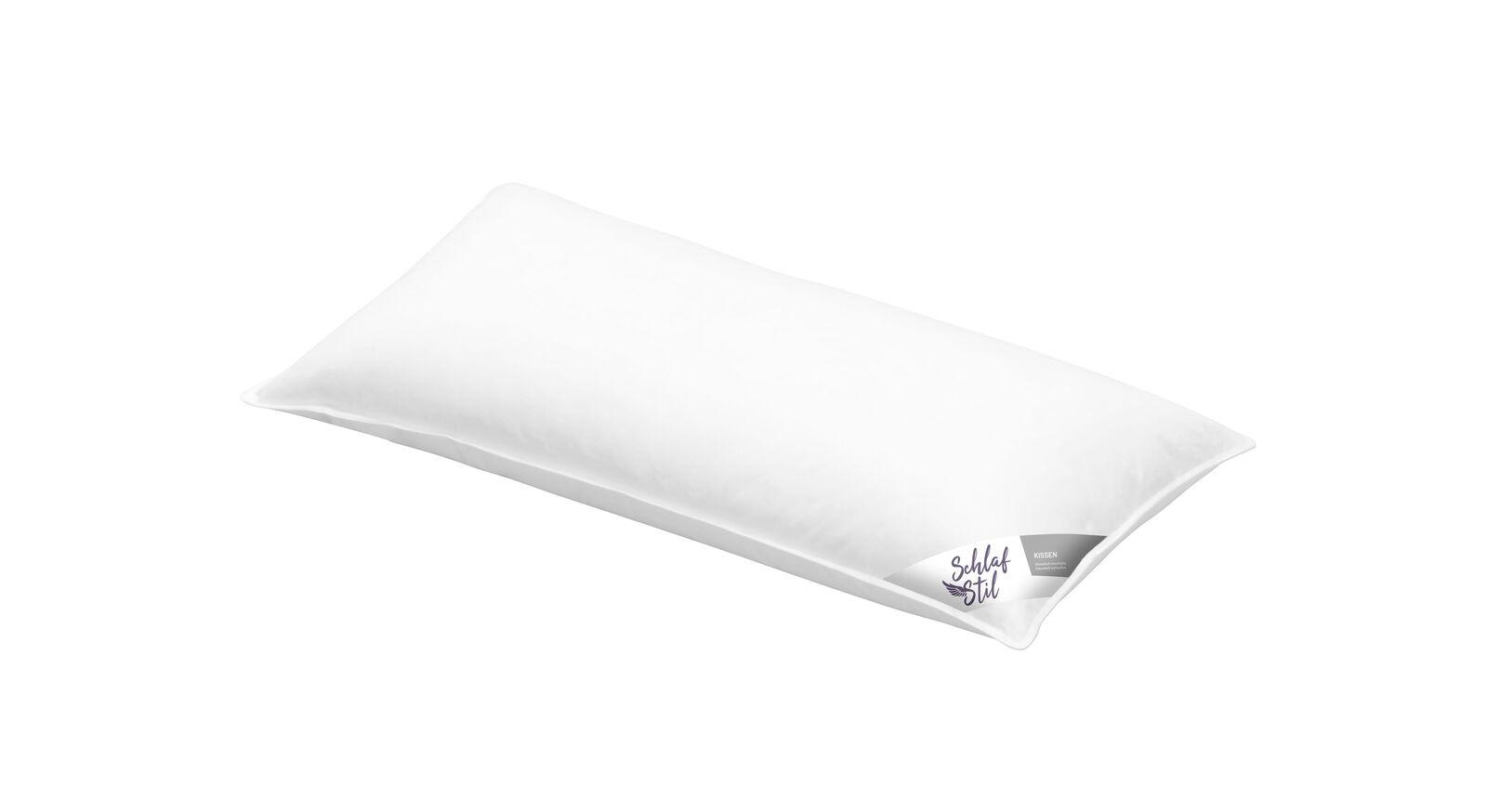 Schlafstil Daunen-Kissen D600 D700 D400 in 40x80 cm