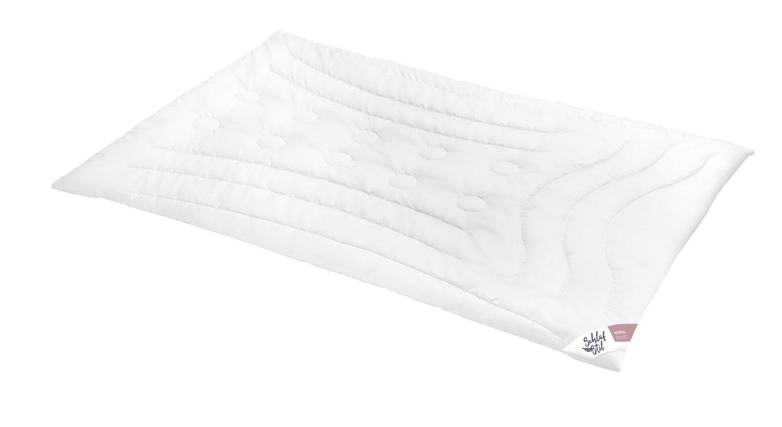 SCHLAFSTIL Kamelhaar-Flaum-Bettdecke N500 für normalen Wärmebedarf