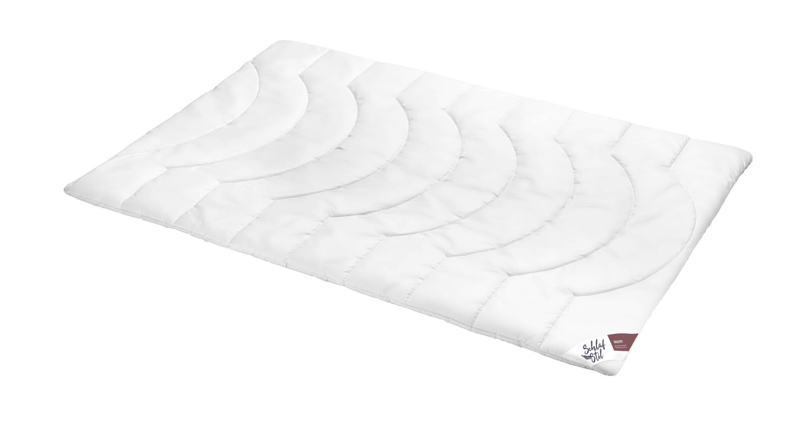 SCHLAFSTIL Markenfaser Bettdecke F200 warm für kühle Nächte