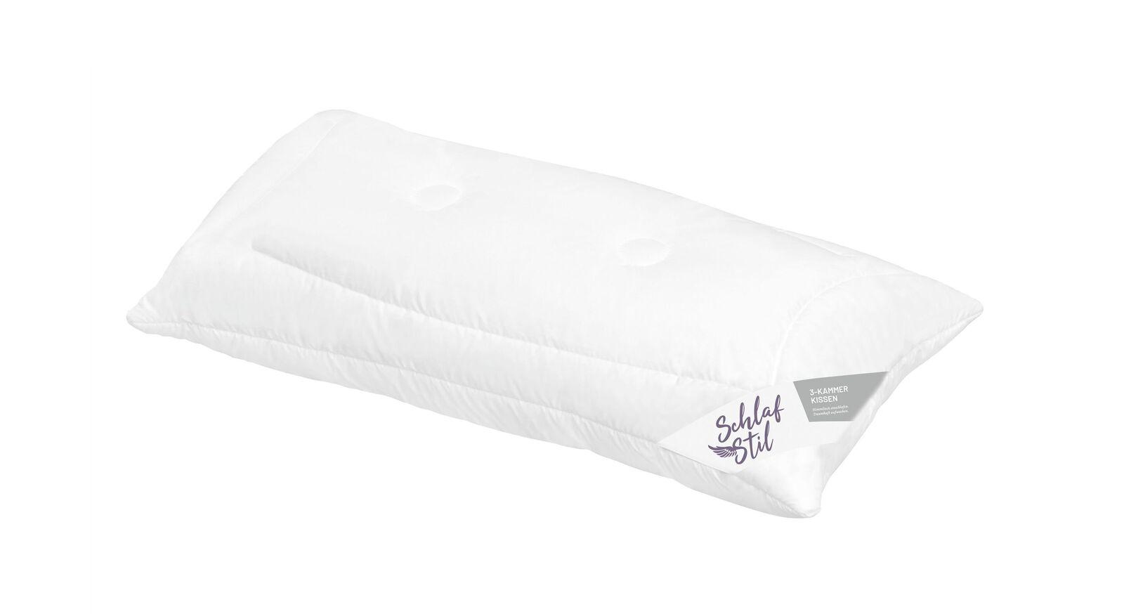 Schmales SCHLAFSTIL Markenfaser-Kissen F400 online kaufen