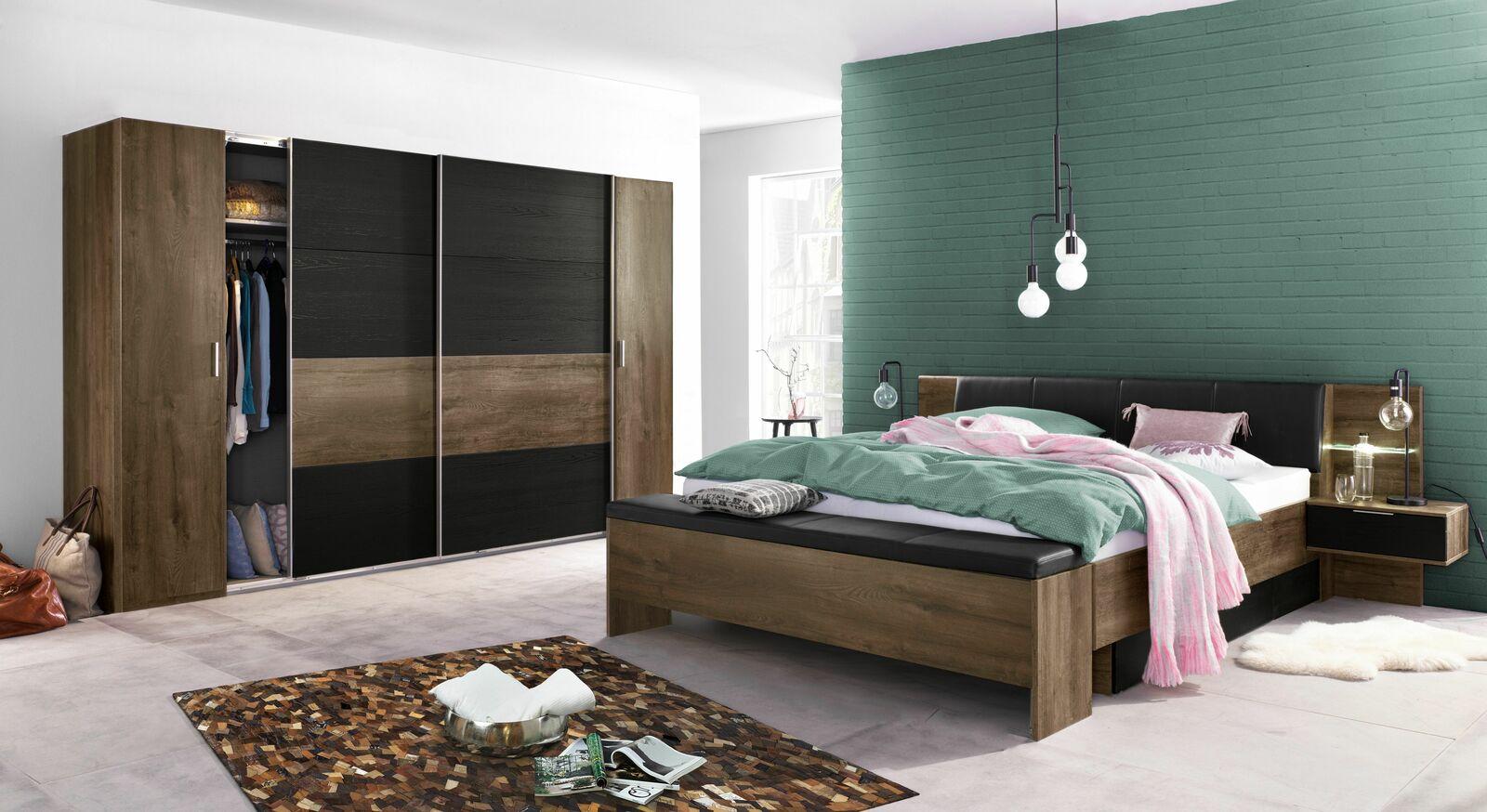 Schlafzimmer Gallinaro mit abgestimmten Möbelstücken