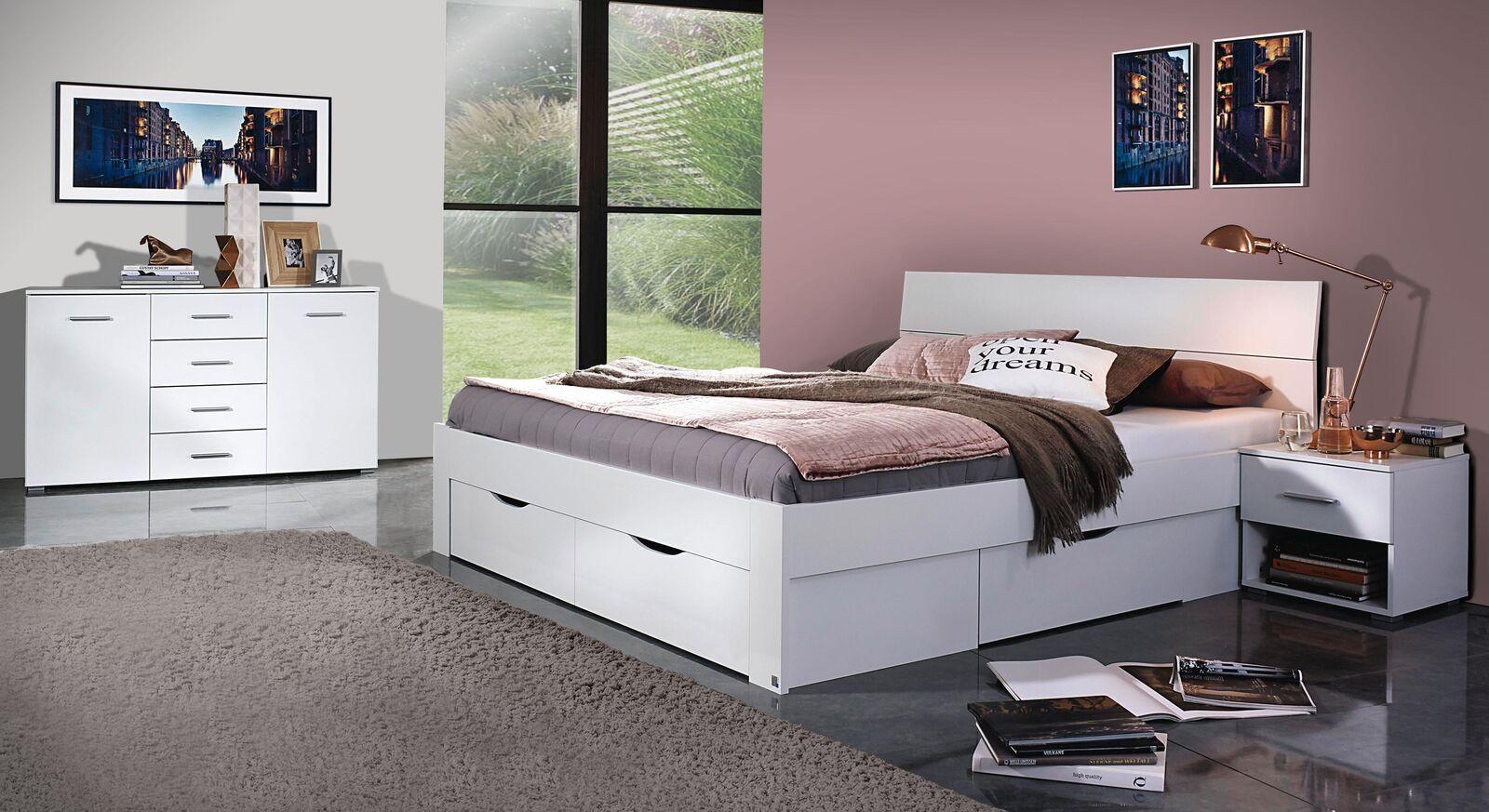 Schlafzimmer Leilani mit Bett-Schubkastensystem