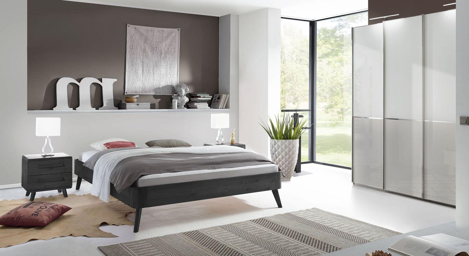 Schlafzimmer im Retrodesign mit modernen Akzenten - Santa Rosa