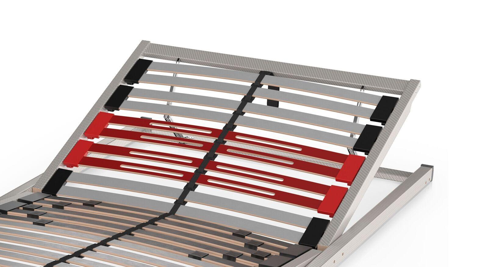 SCHLARAFFIA Bettkasten-Lattenrost Classic 28 Gasfeder mit flexibler Schulterabsenkung