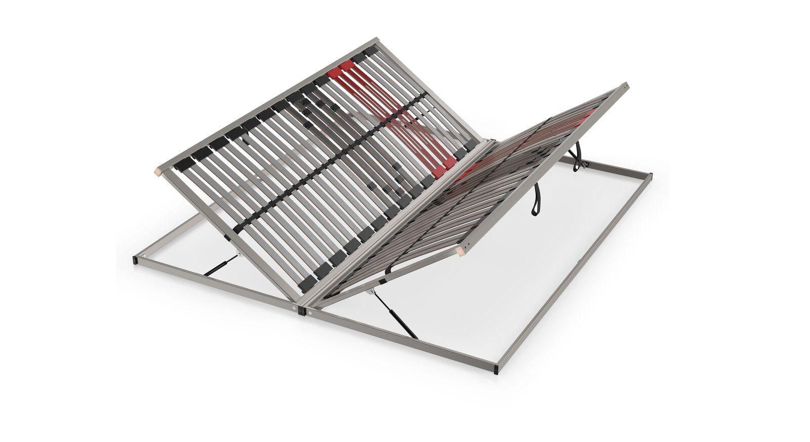 SCHLARAFFIA Bettkasten-Lattenrost Classic 28 Side Lift mit stufenlose Härteregulierung
