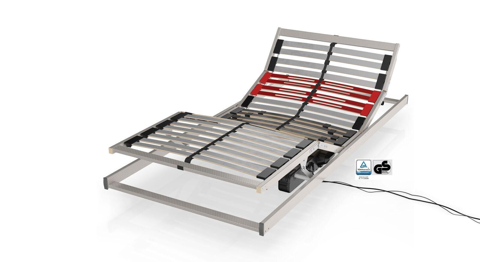 Ergonomischer Schlaraffia Elektro-Lattenrost Classic 28 M für gute Körperanpassung