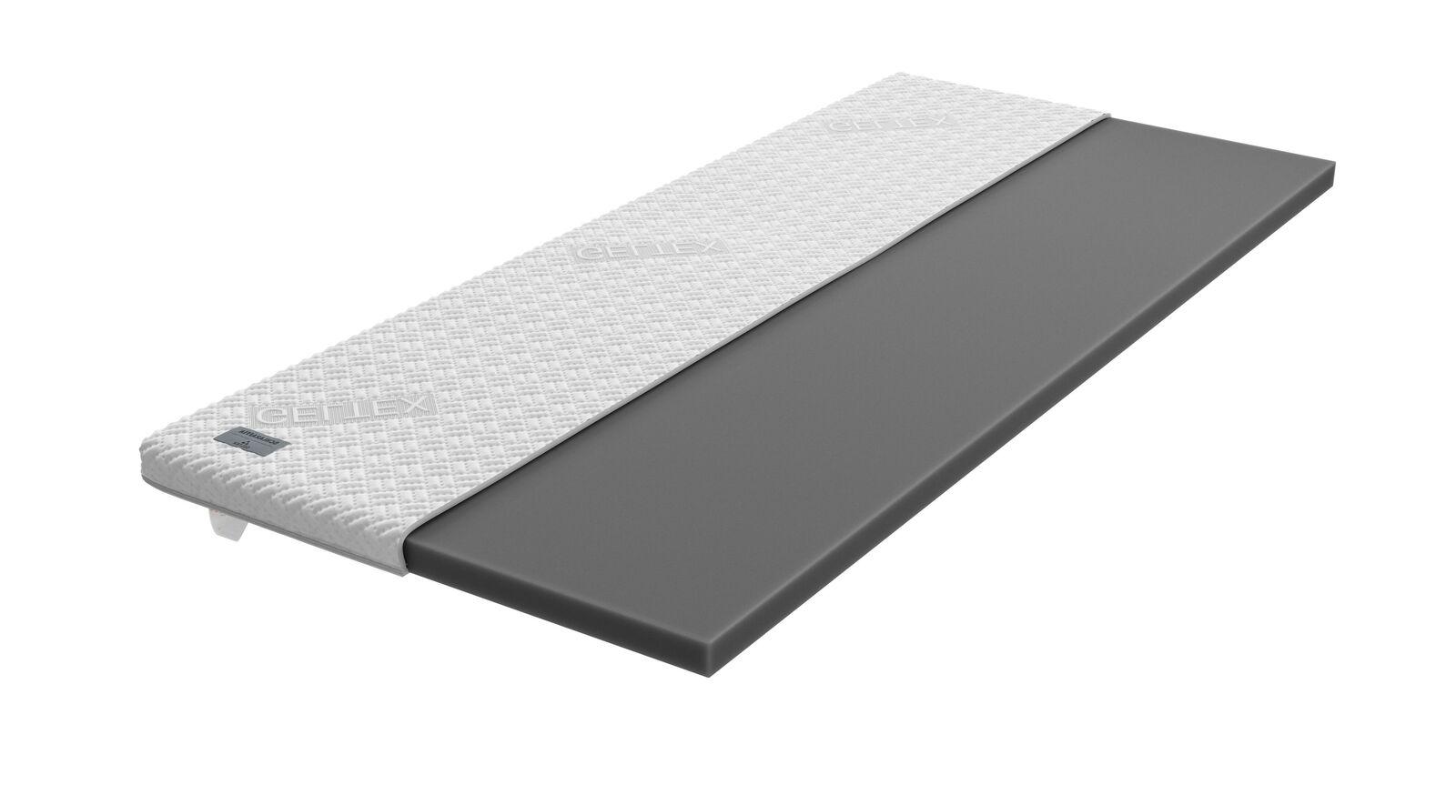 SCHLARAFFIA GELTEX-Topper Roll-n-Sleep mit atmungsaktiver Klimafaser