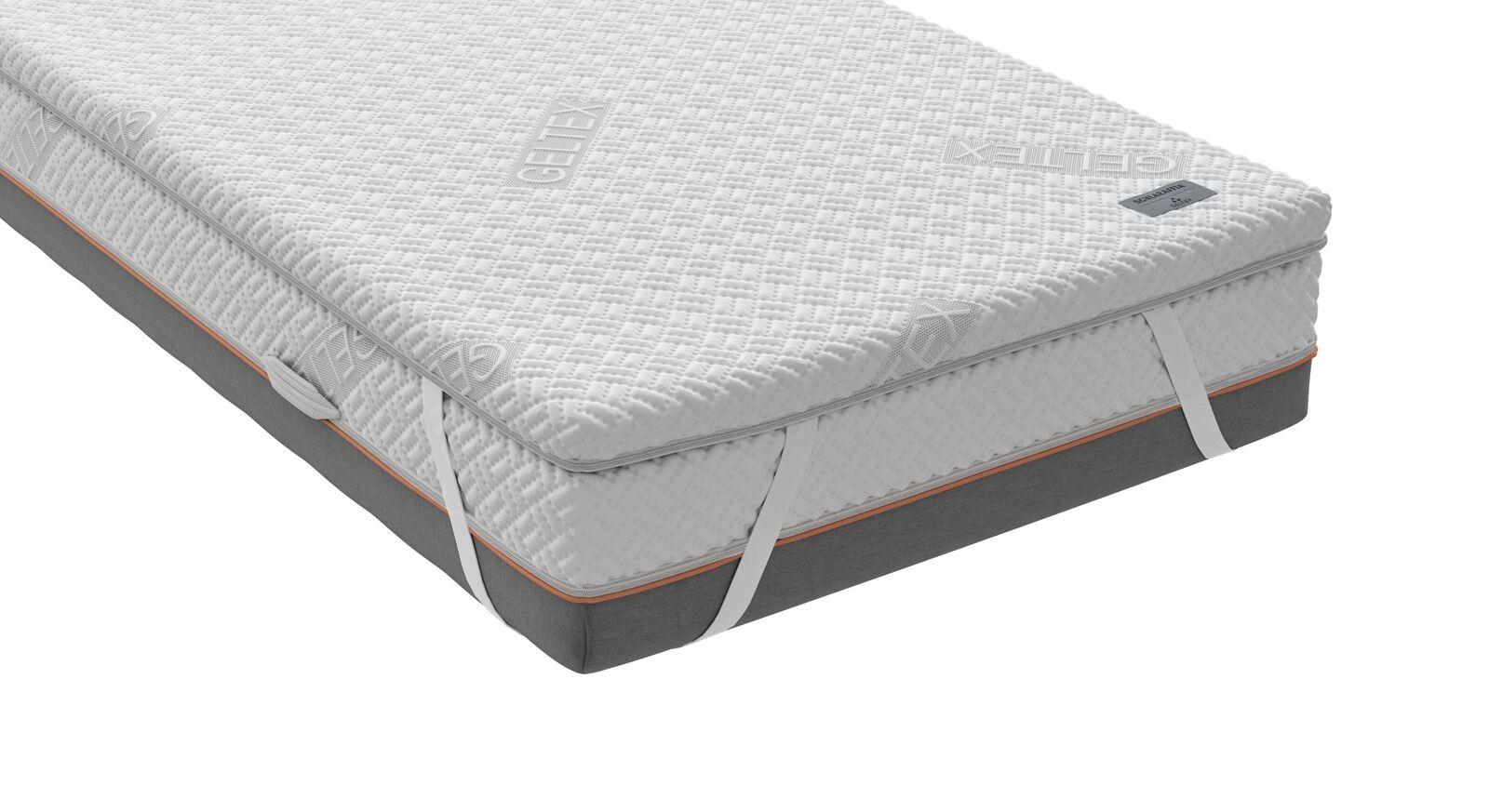 Perfekt sitzender SCHLARAFFIA GELTEX-Topper Roll-n-Sleep