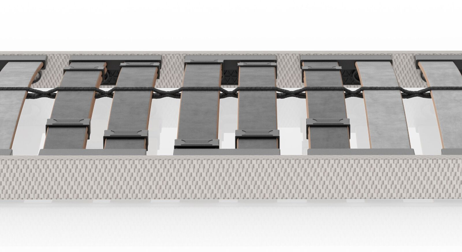 SCHLARAFFIA Lattenrost Classic 28 NV/KF mit Becken-Komfortzone