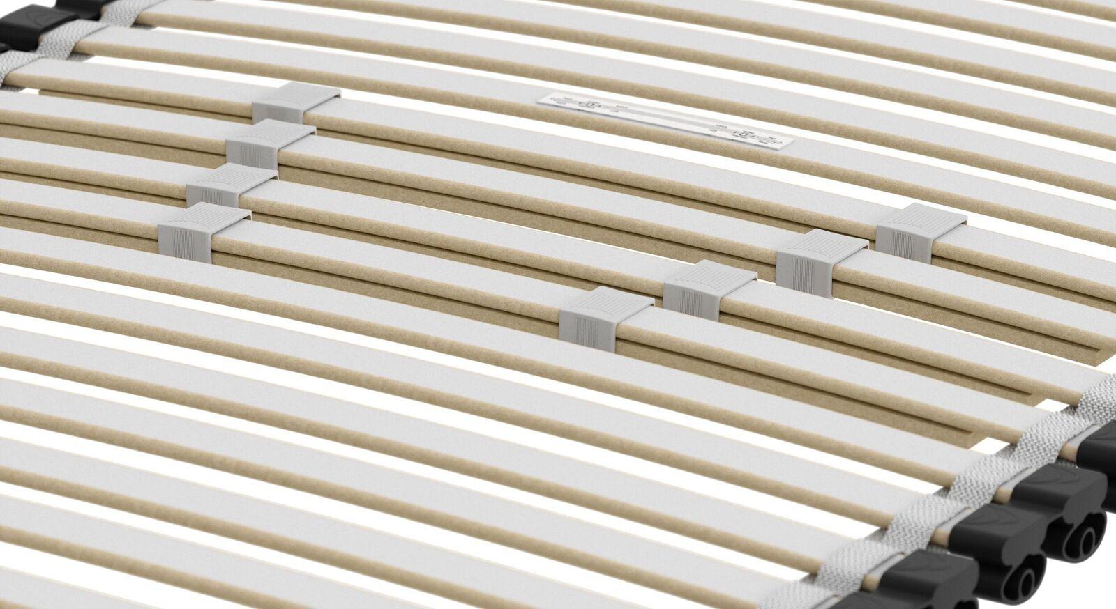 SCHLARAFFIA Lattenrost Roll-n-Sleep mit stabilisierender Mittelzone