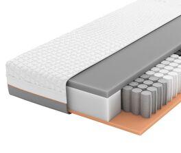 SCHLARAFFIA Taschenfederkern-Matratze GELTEX Solaris ZV TFK in innovativem Aufbau