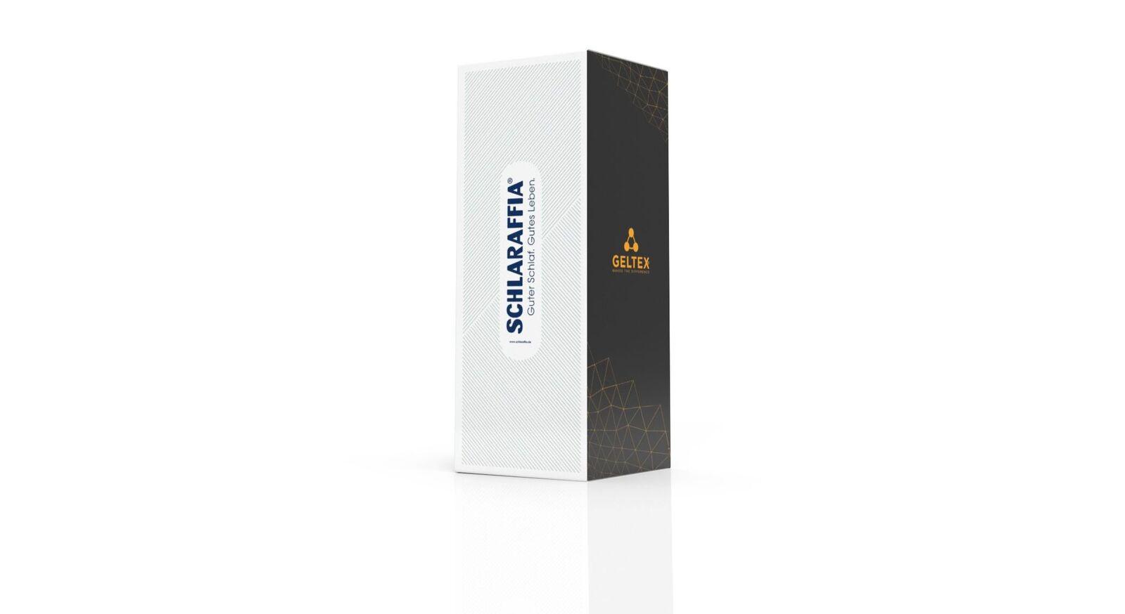 Kompakte Verpackung der SCHLARAFFIA-GELTEX Produkte