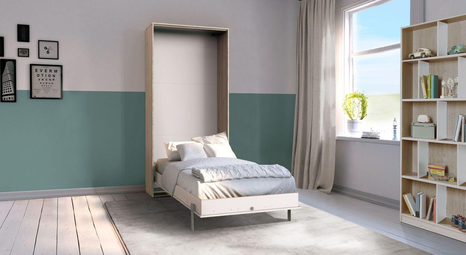 Schrankbett Vallarta in Einzelbett-Größe