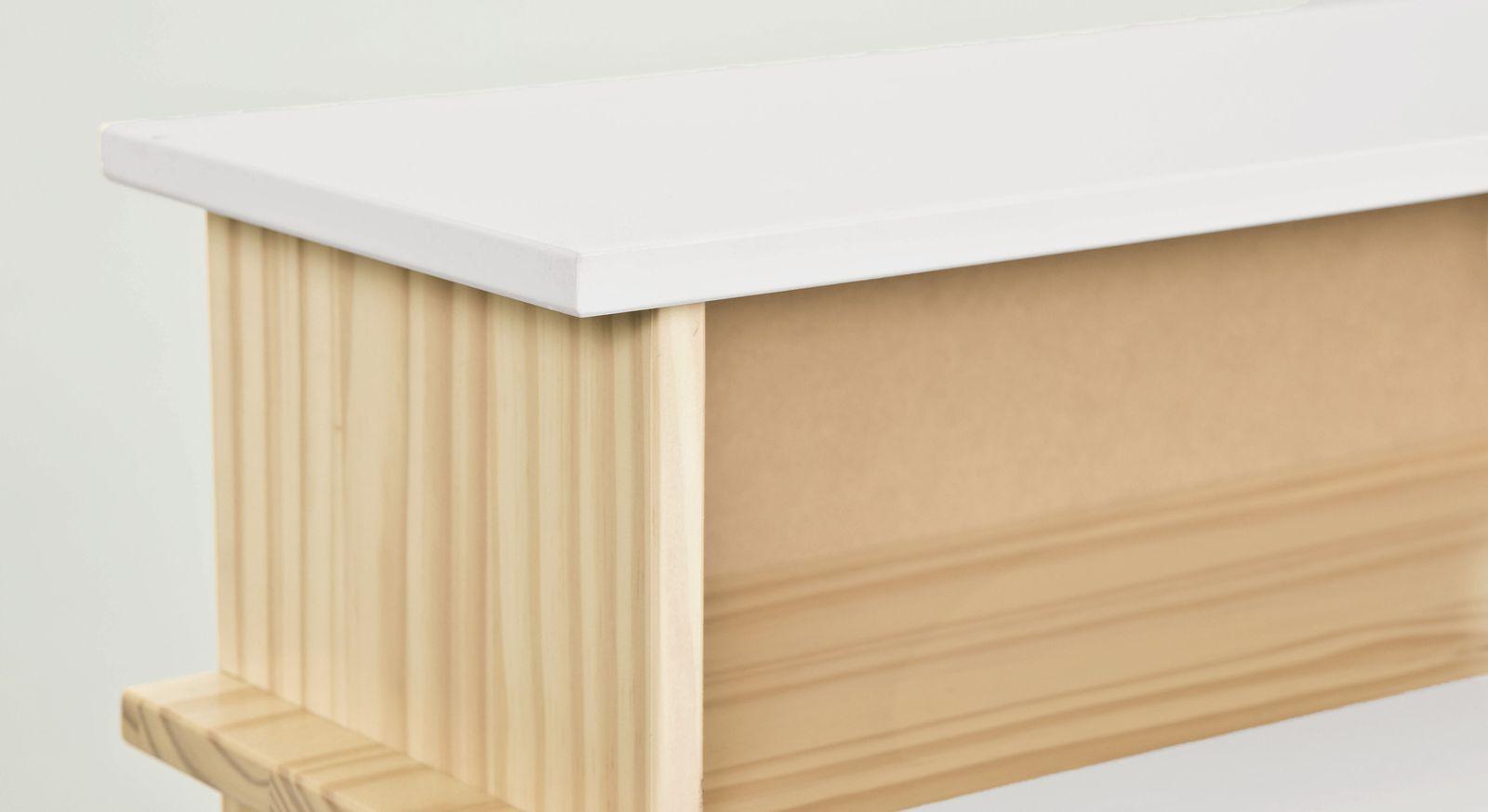 Schreibtisch Erin mit aufgesetztem Ablagefach