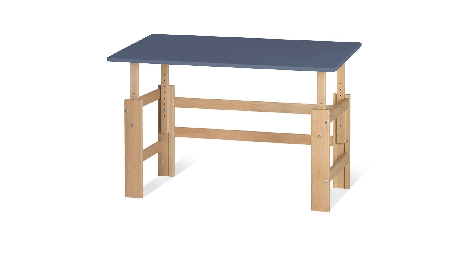 Schreibtisch Kids Town höhenverstellbar in Jeansblau