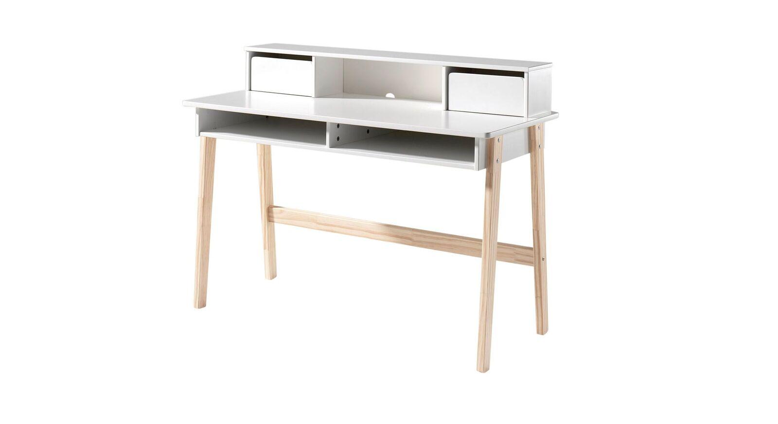 Schreibtisch Maila mit nützlicher Aufteilung