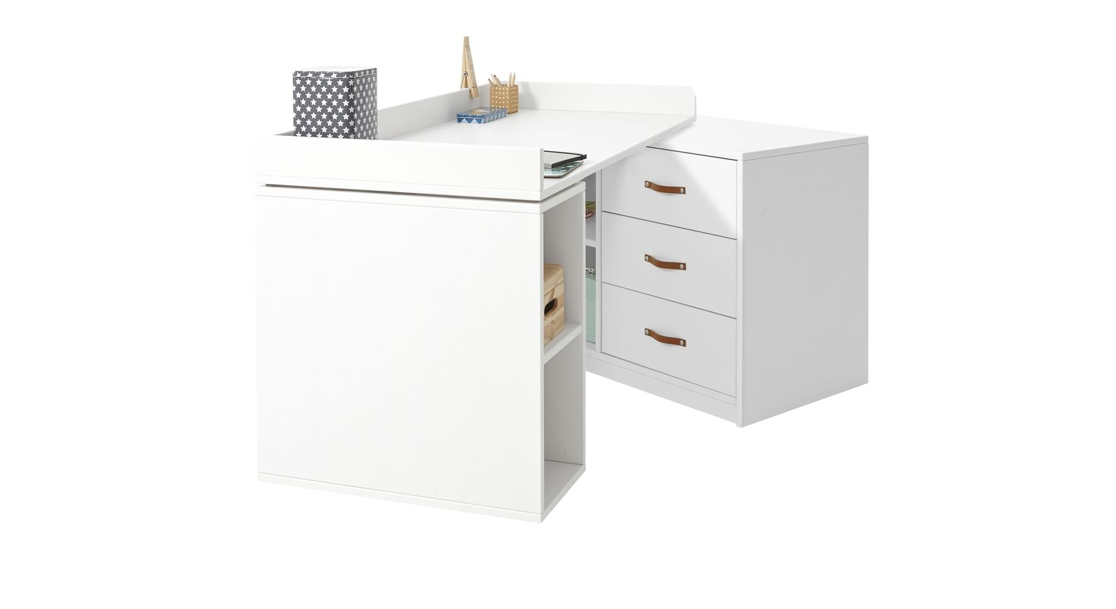 Schreibtisch Original drehbar von LIFETIME einfach zu verstellen