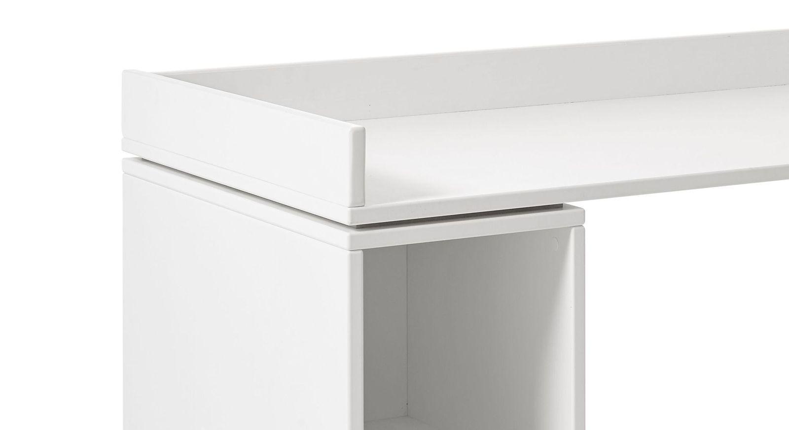 Robuster Schreibtisch Original rollbar von LIFETIME mit dreiseitigem Herunterfallschutz