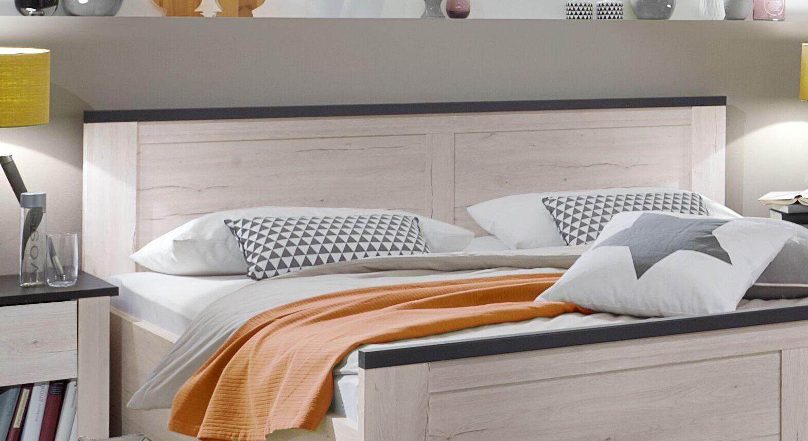 Schubkasten Bett Grom inklusive Kopfteil