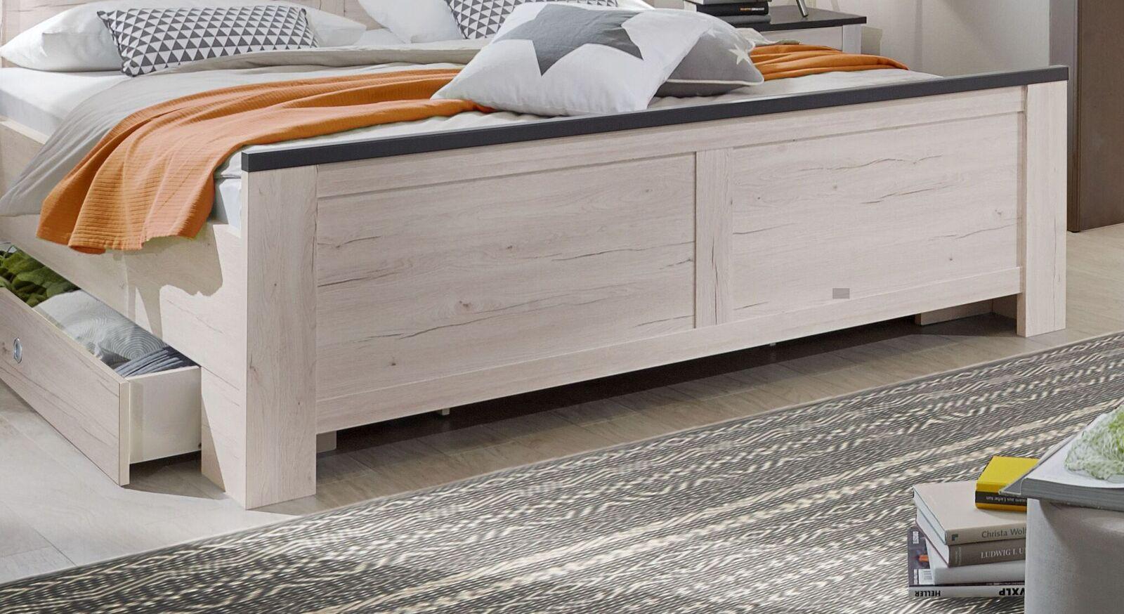 Schubkasten-Bett Grom mit robustem Fußteil
