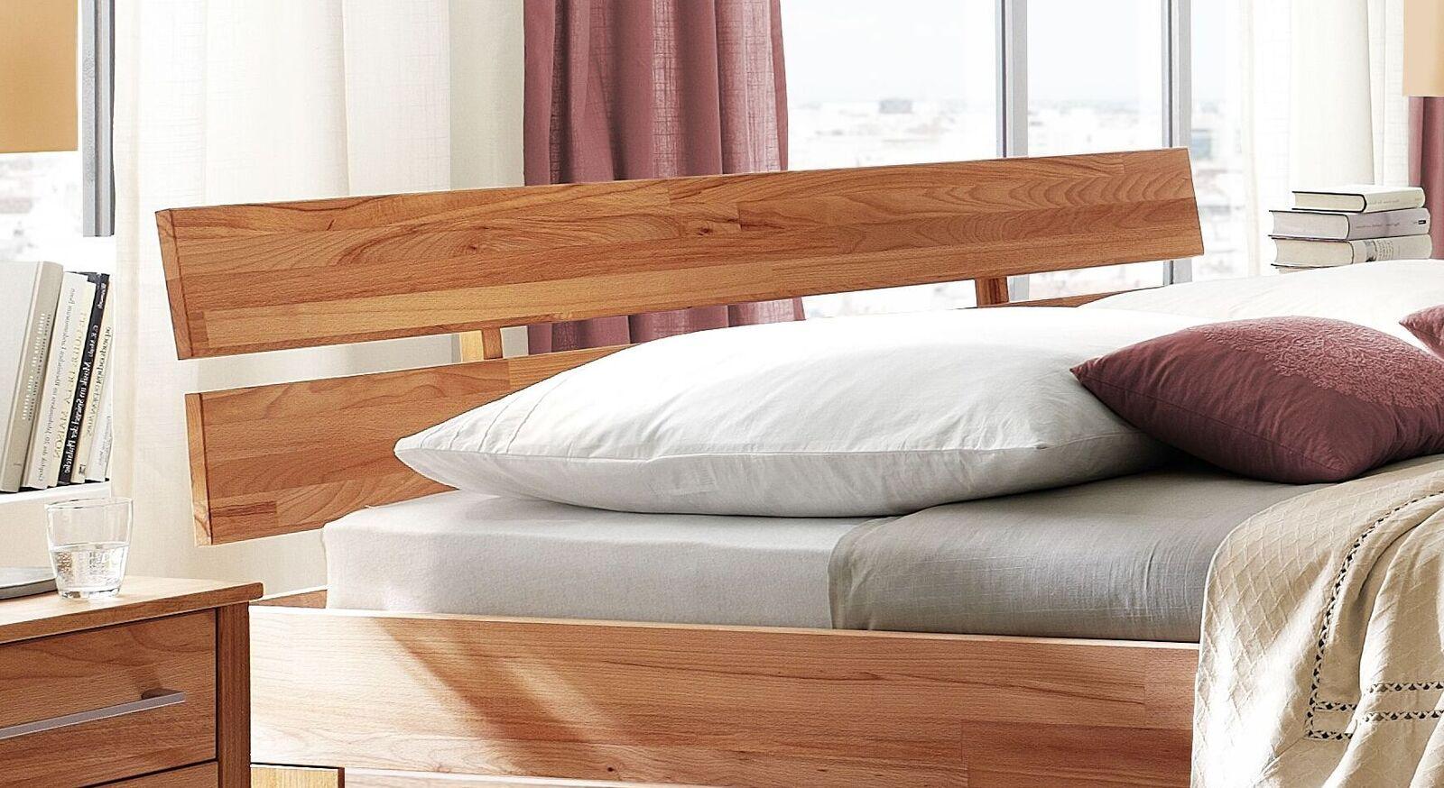 Schubkasten-Bett Halvar mit geteiltem Kopfteil