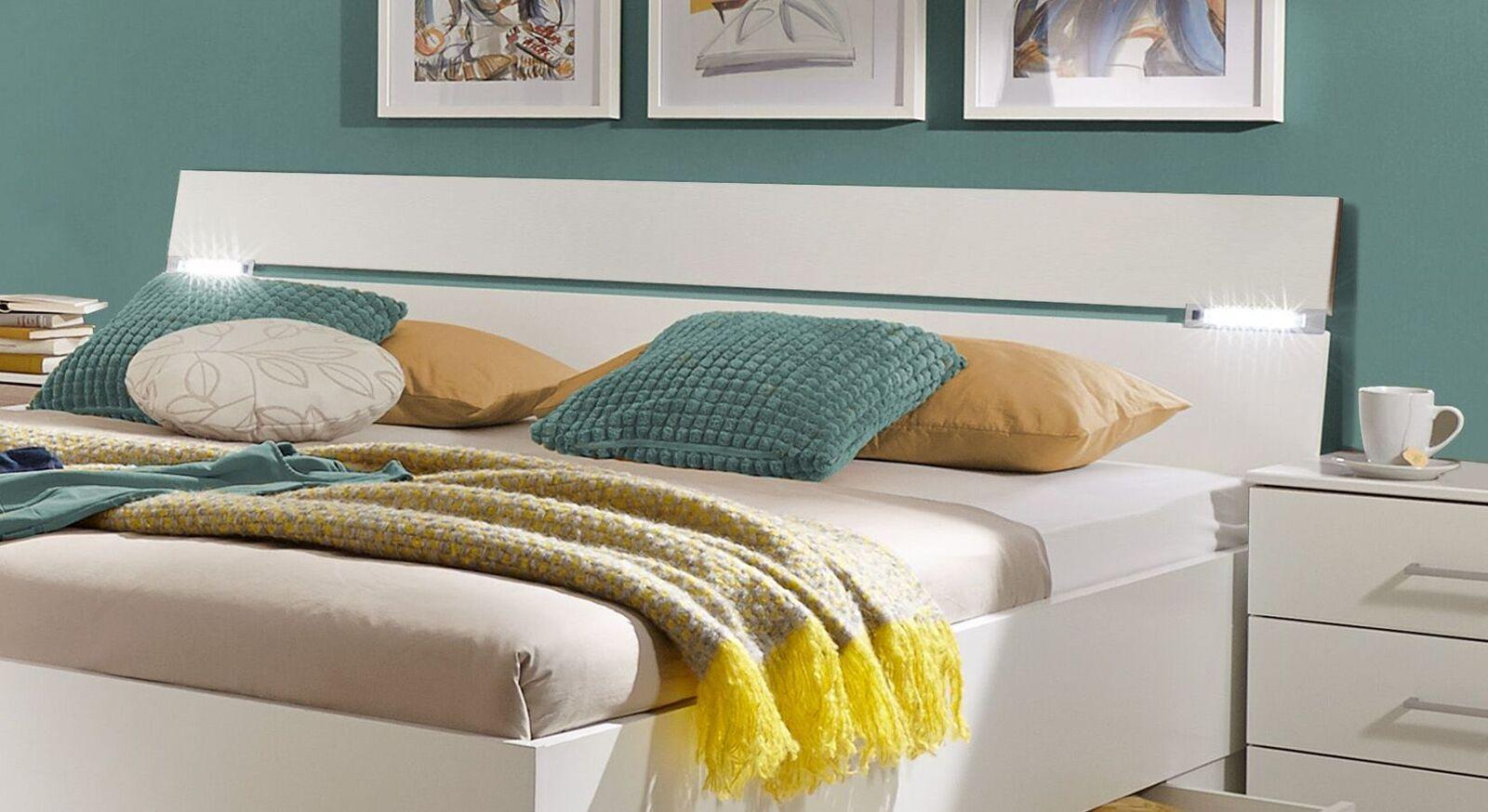 Schubkasten-Bett Kiraly mit geteiltem Kopfteil