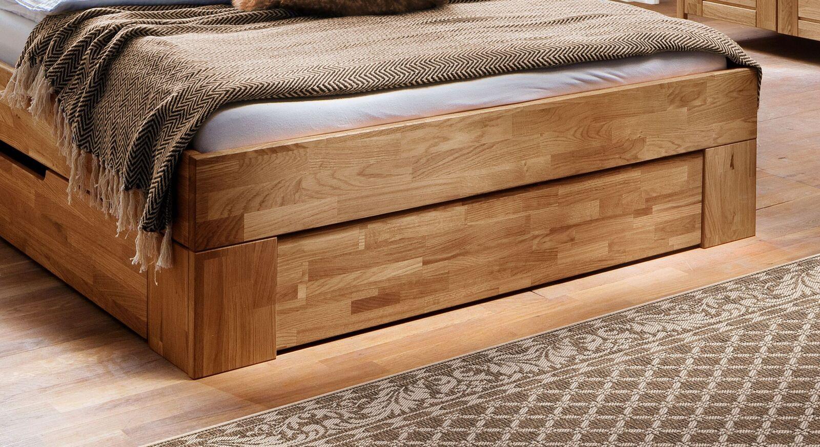 Schubkasten-Bett Pasja in hochwertiger Verarbeitung