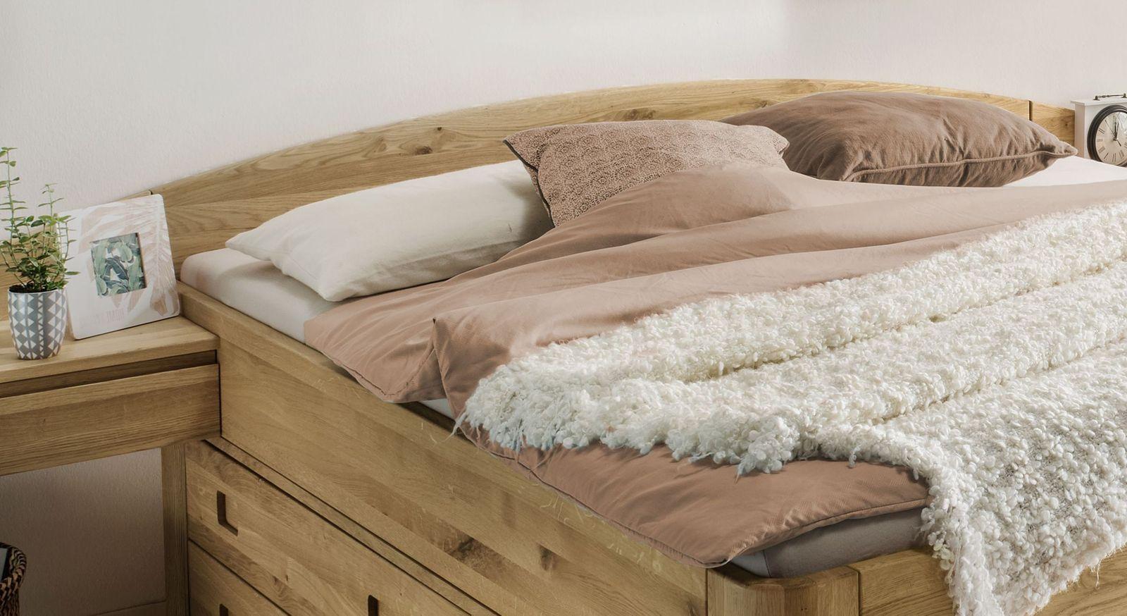Schubkasten-Bett Pram mit gebogenem Kopfteil