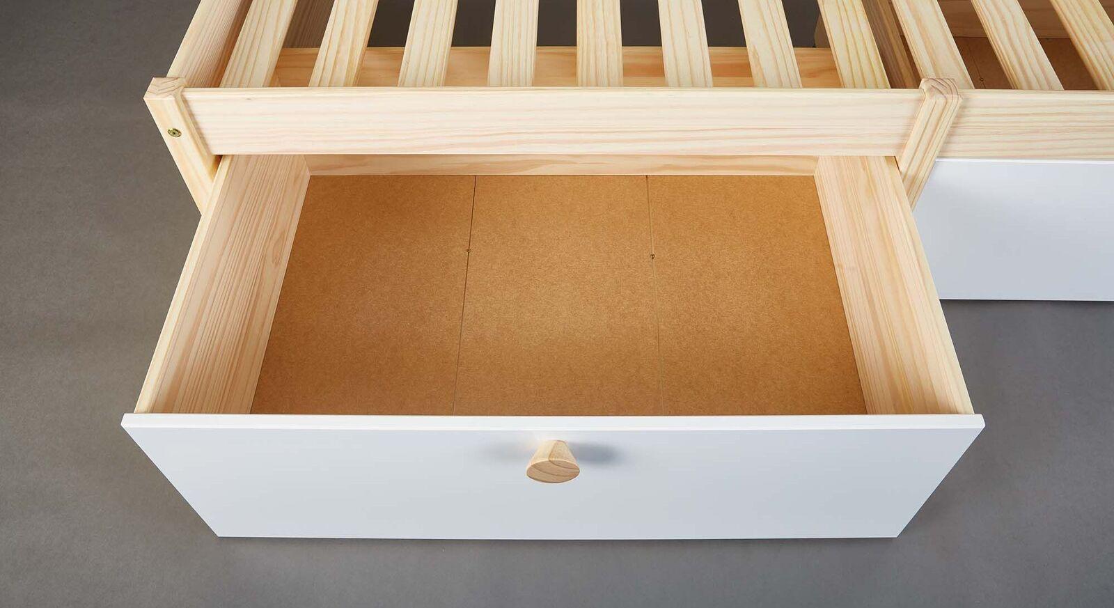 Schubkasten-Bett Saffars Schublade für Stauraum