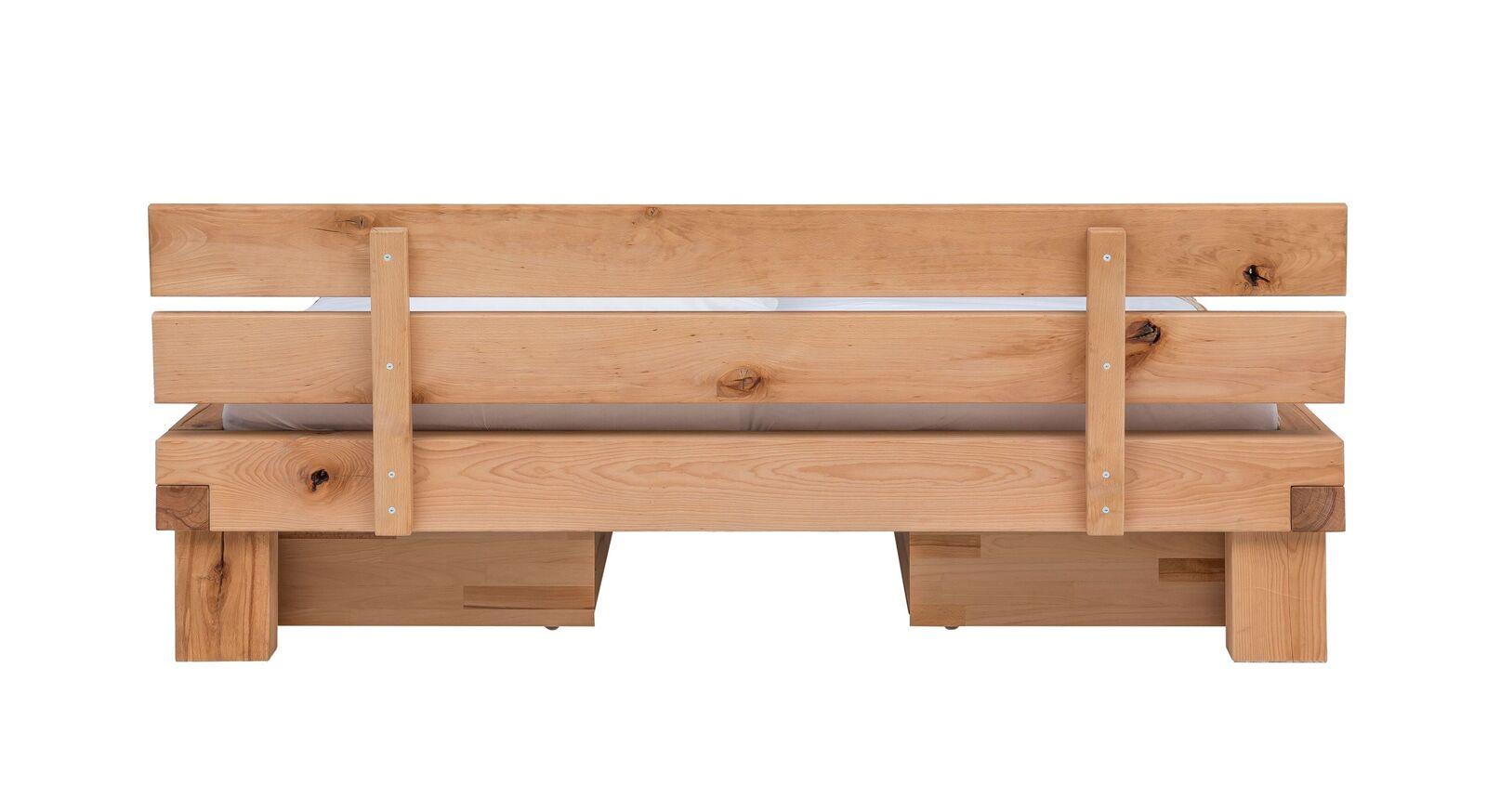 Schubkasten-Bett Sowa mit beidseitigen Bettschubkästen