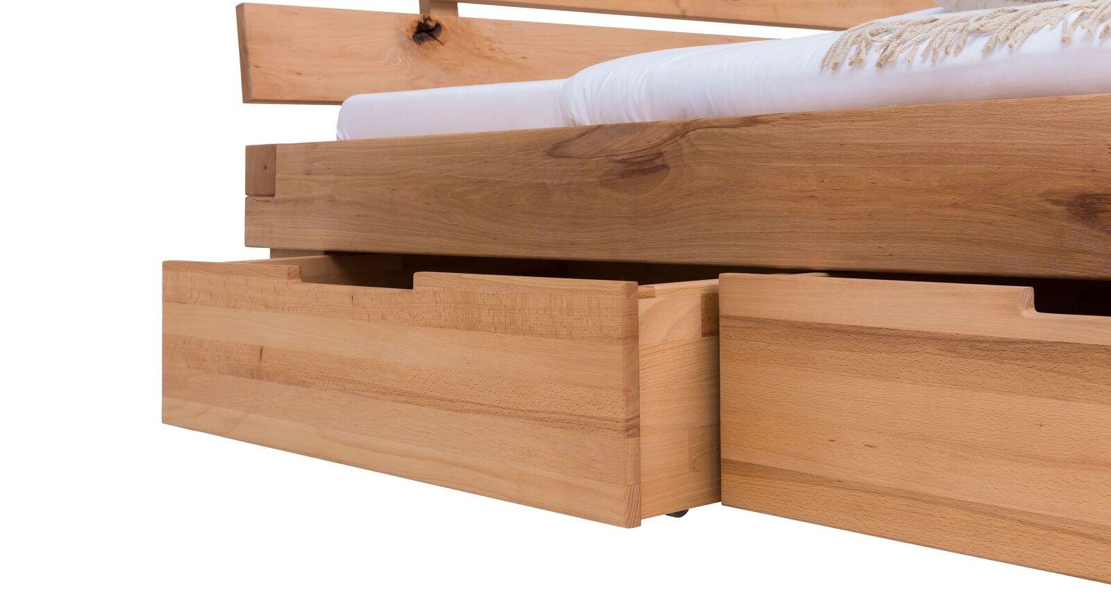 Schubkasten-Bett Sowa mit leichtgängigen Bettkästen