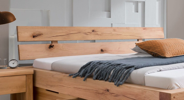 Schubkasten-Bett Sowa mit Kopfteil zum Anlehnen