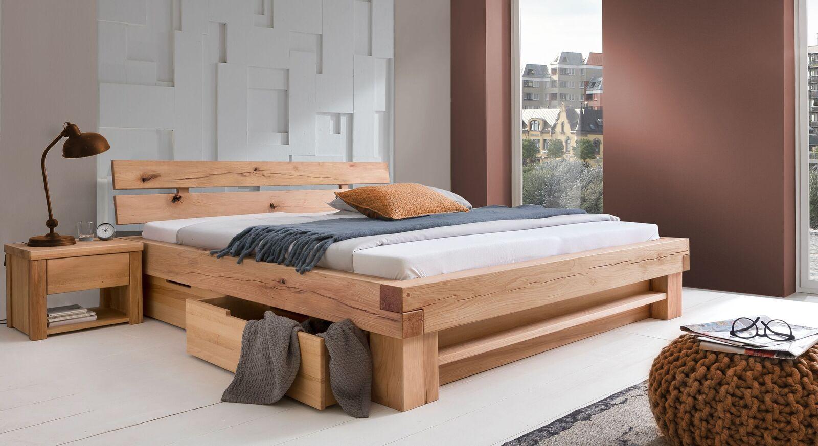 Schubkasten-Bett Sowa mit passendem Nachttisch