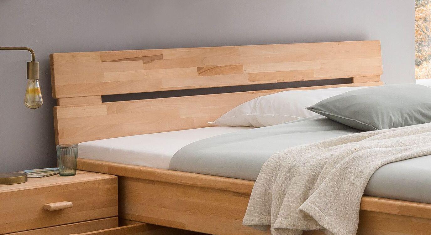 Schubkasten-Bett Tamiras Kopfteil mit Aussparung