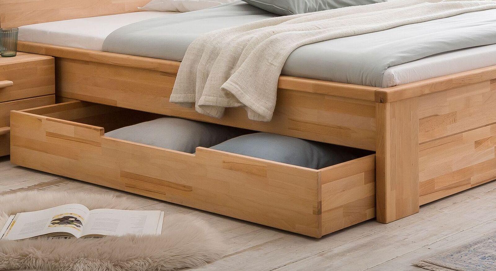 Schubkasten-Bett Tamira mit leichtgängigem Bettkasten