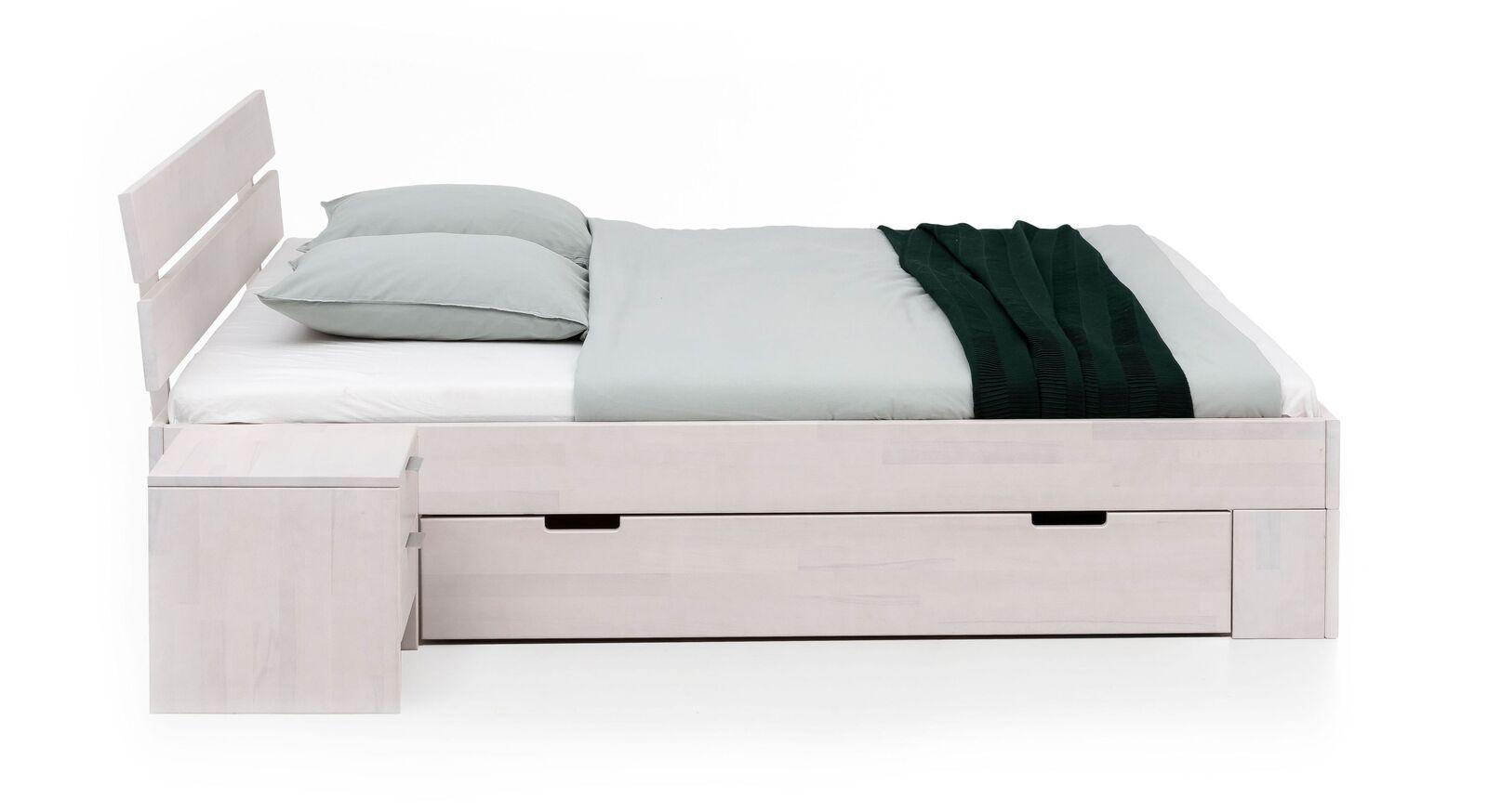 Hochwertiges Bett Valor mit leichtgängigen Schubkästen