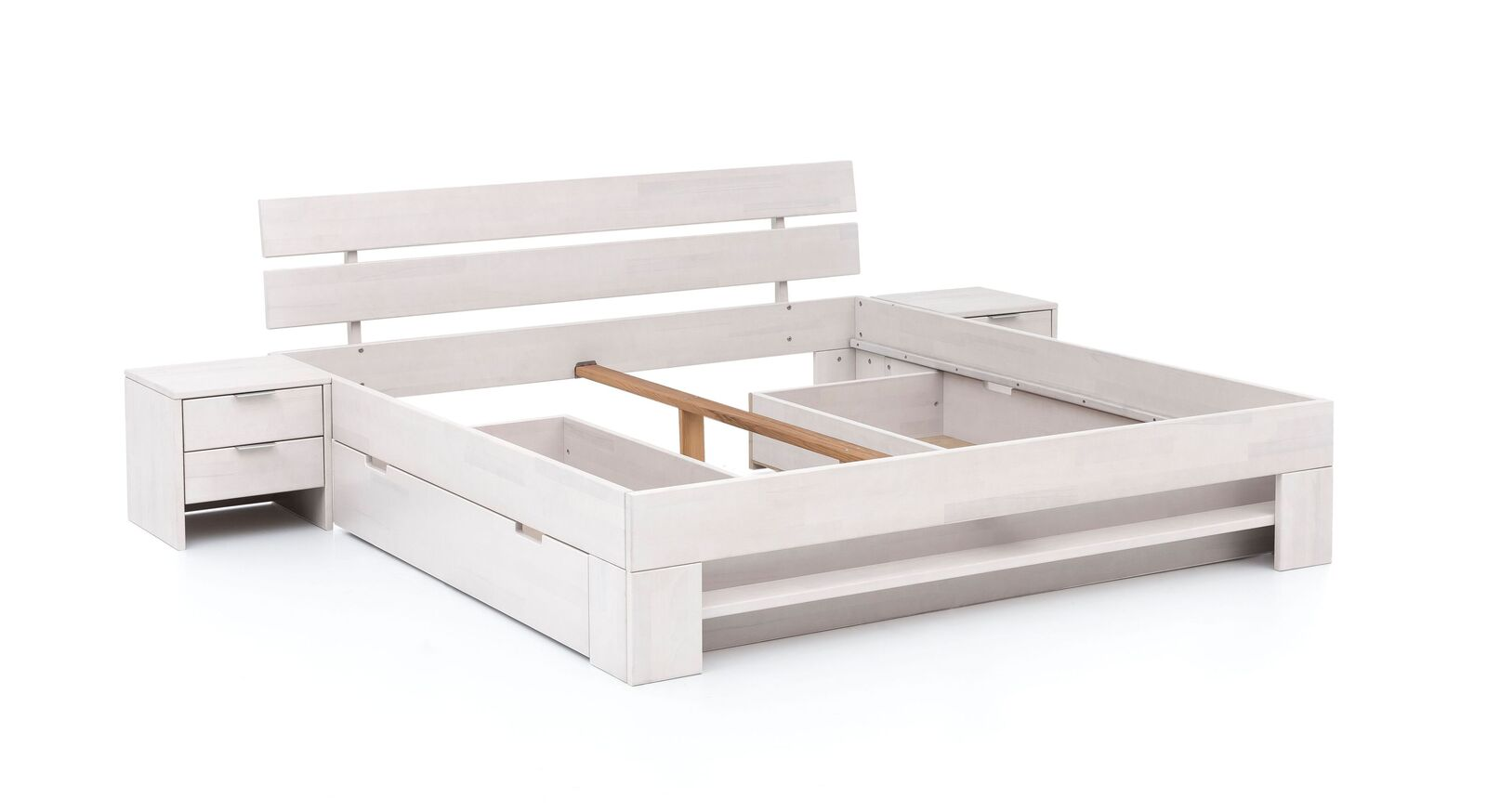 Schubkasten-Bett Valor inklusive Mittelholm