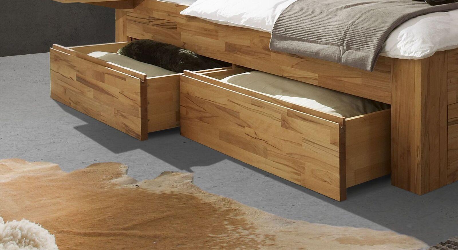 Schubkasten-Einzelbett Andalucia mit praktisch integriertem Stauraum