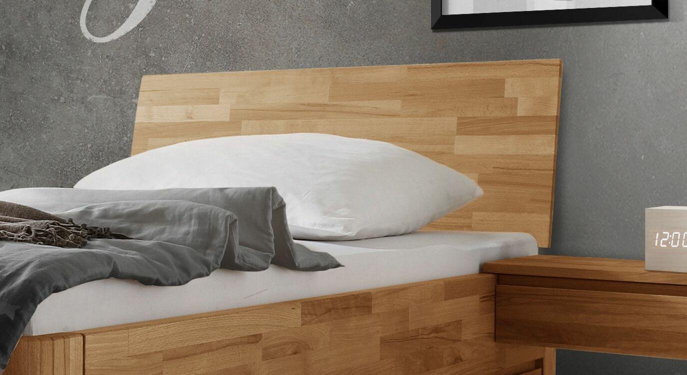 Schubkasten-Einzelbett Zarbo mit leicht geneigtem Kopfteil
