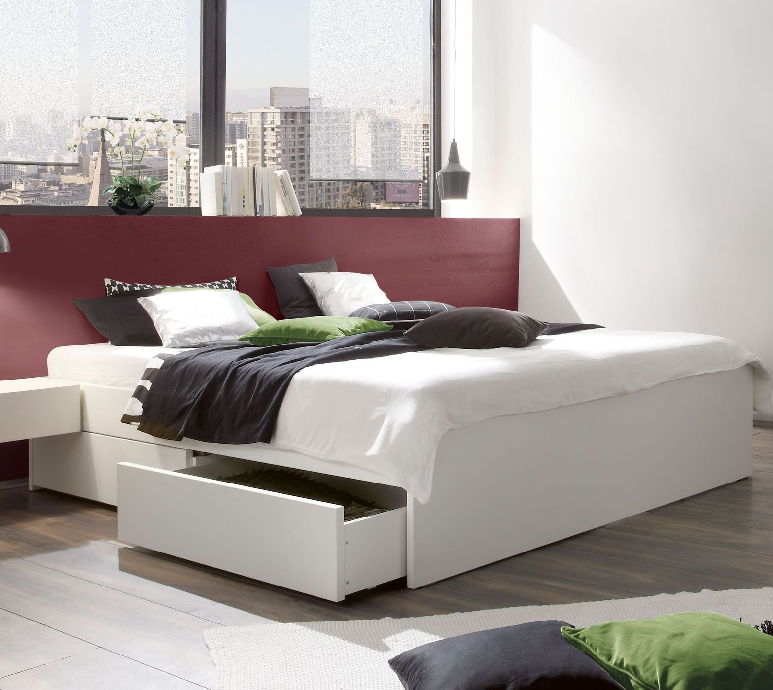 ein sch nes bett in 120x200 cm auf rechnung kaufen betten de. Black Bedroom Furniture Sets. Home Design Ideas