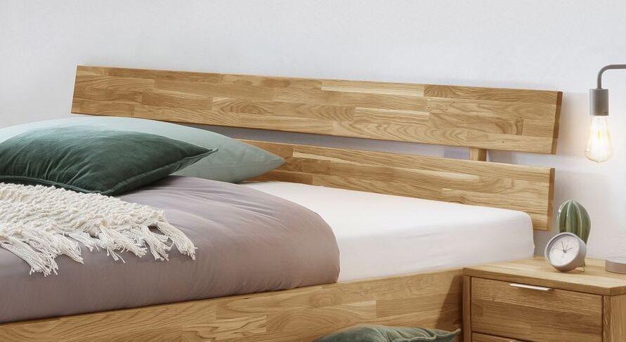 Schubkastenbett Kanata mit geteiltem Kopfteil